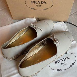 Prada Espadrilles size 40 or US 10 New in box